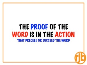 Word, Action & Proof
