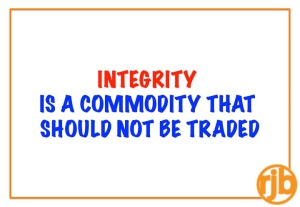 Integrity as a commodity